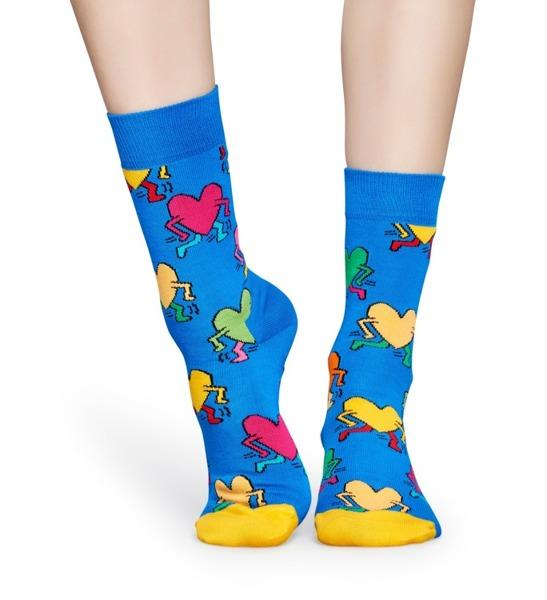 Skarpetki Happy Socks x Keith Haring KEH01-6001