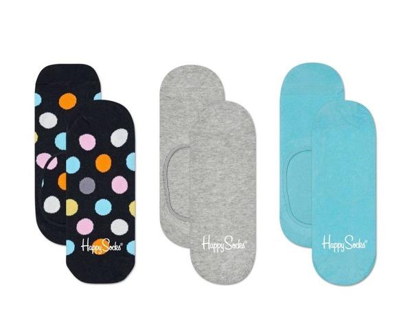 Skarpetki LINER (3-pak)  Happy Socks BDO18-9001