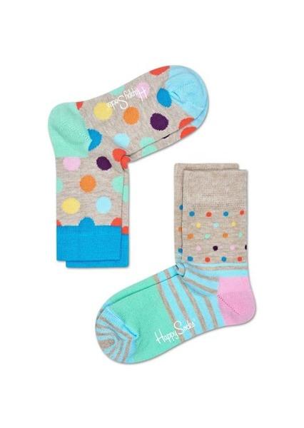 Skarpetki dziecięce (2-pak) Happy Socks KBDO02-1000